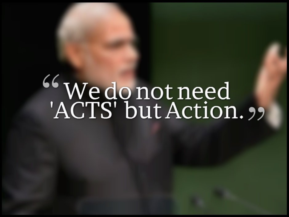 We-do-not-need-ACTS-but-Action-Narendra-Modi-Be-An-Inspirer