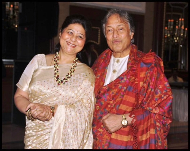 Amjad-Ali-Khan-with-his-wife-Subhalakshmi-Barua-Khan-Be-An-Inspirer