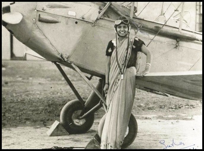 Inspirational-Story-of-Sarla-Thakral-First-Woman-To-Fly-An-Aircraft-in-India-Be-An-Inspirer