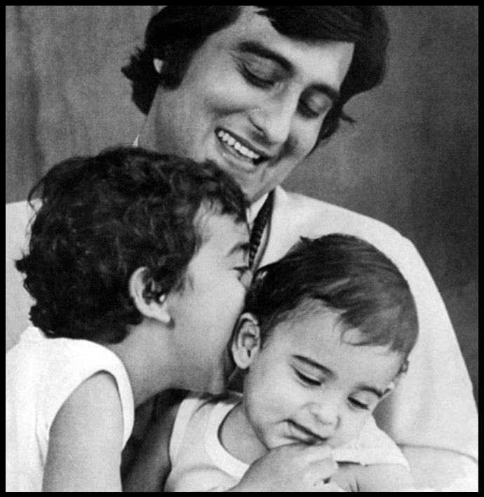 Vinod-Khanna-with-his-2-sons-Rahul-Khanna-and-Akshaye-Khanna-Be-An-Inspirer