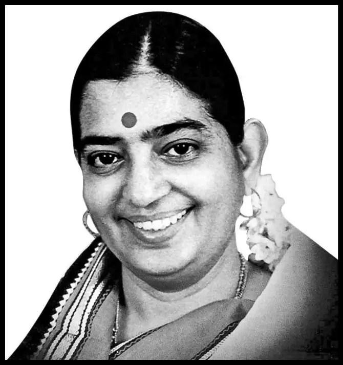 Pulapaka-Susheela-Indian-playback-singer-Be-An-Inspirer