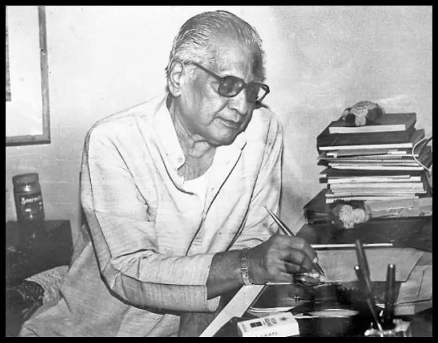 Marathi-Poet-Kusumagraj-Vishnu-Vāman-Shirwādkar-Be-An-Inspirer