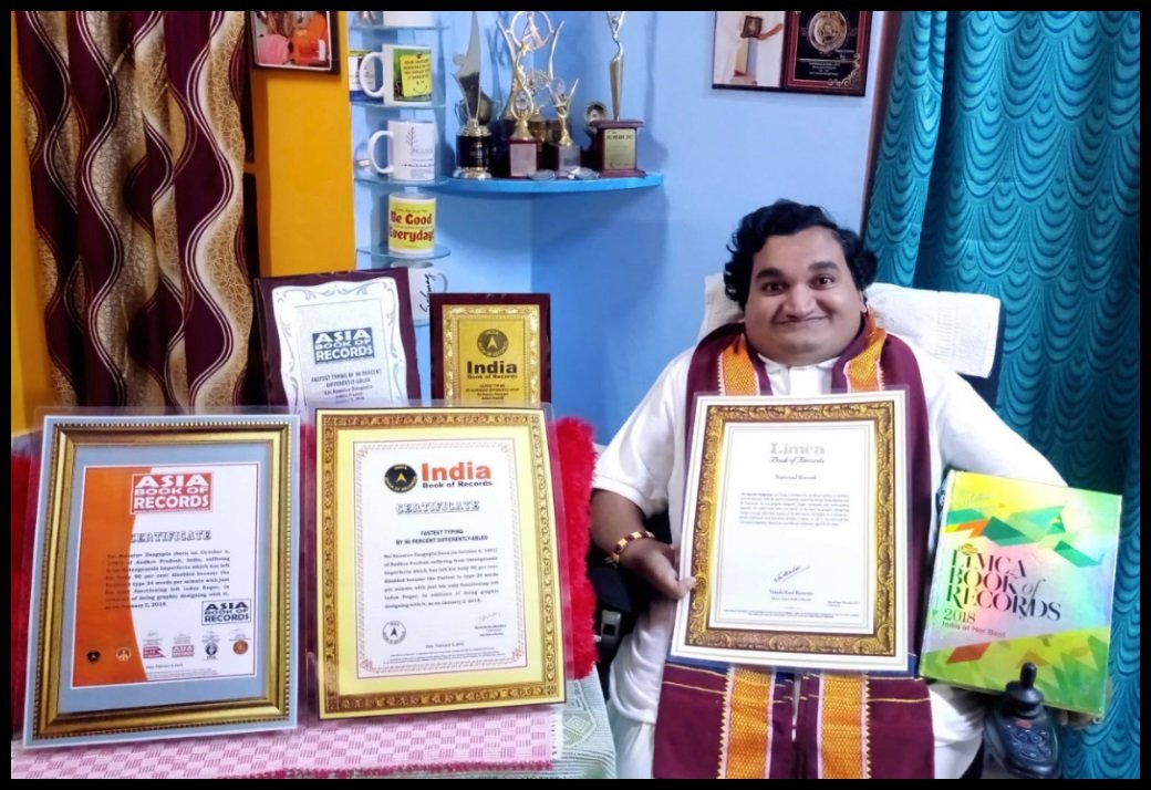 Sai-Kaustuv-Dasgupta-entered-into-LIMCA-BOOK-OF-RECORDS-2018-INDIA-BOOK-OF-RECORDS-2018-and-ASIA-BOOK-OF-RECORDS-2018-for-Fastest-Typing-Speed-with-one-finger-of-left-hand-Be-An-Inspirer