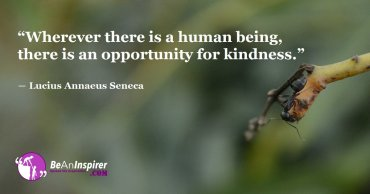 Show Kindness Everywhere You Go and Change the World with Your Kindred Spirit