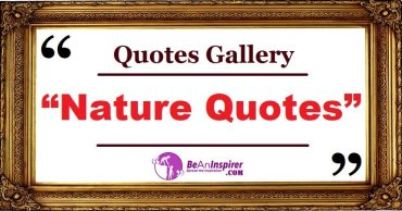 Nature Quotes and Sayings with Nature Photographs [Quotes Gallery]