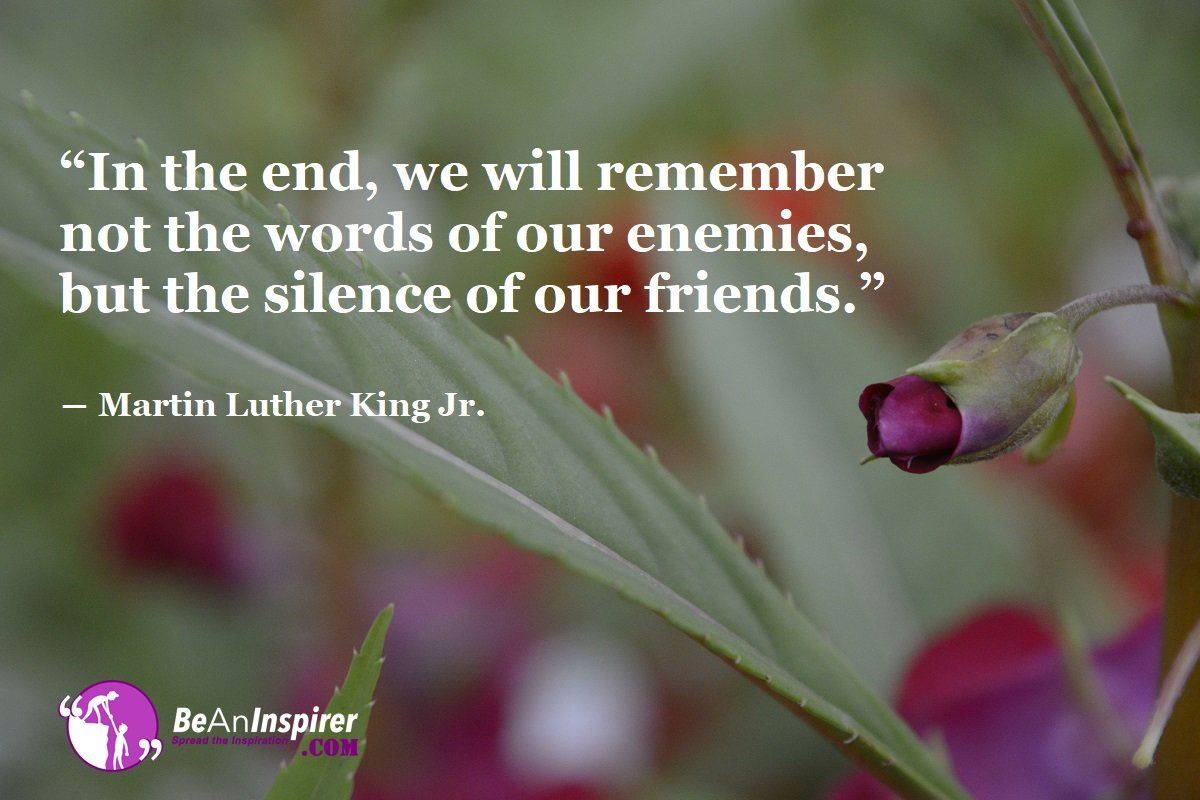 In-the-end-we-will-remember-not-the-words-of-our-enemies-but-the-silence-of-our-friends-Martin-Luther-King-Jr-Friendship-Quotes-Be-An-Inspirer
