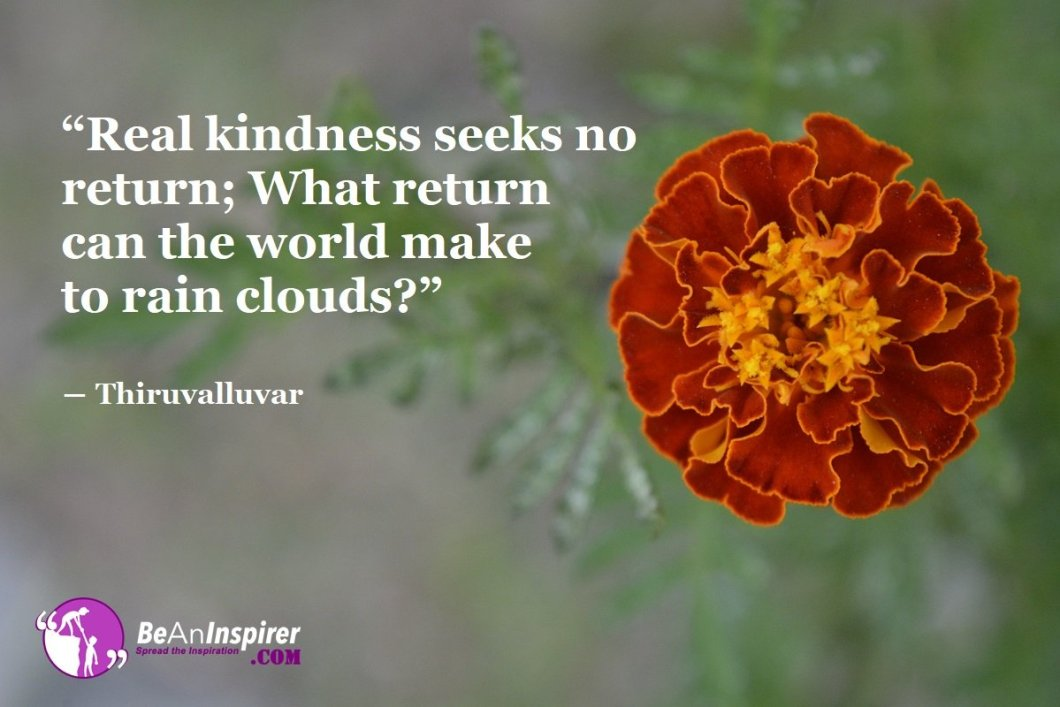 The Act Of Kindness: Best Part Of A Man's Life