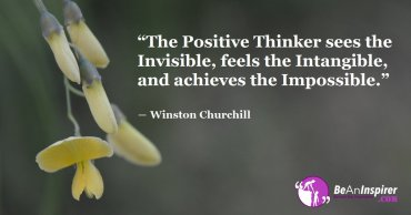 Think Positive, Act Positive And Thus No Journey Is Hard To Accomplish
