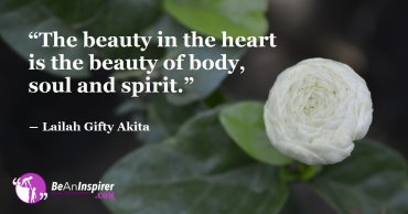True Beauty Is A Unique Mix Of A Beautiful Heart And A Beautiful Soul