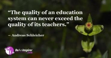 Seven Characteristics of Excellent School Education System