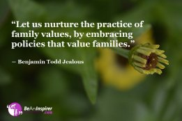 Ethical Reality of the Family Values