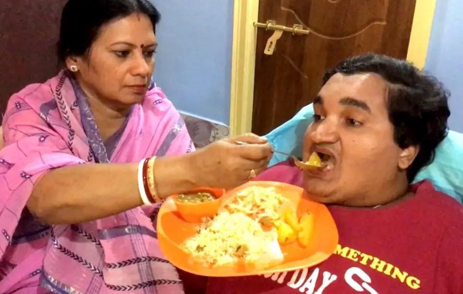 Dr. Shila Dasgupta with Sai Kaustuv Dasgupta