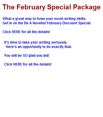 Be A Novelist February Special