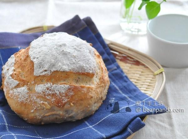 軟式提子核桃全麥麵包【鬆軟、麥香】Wheat Bread