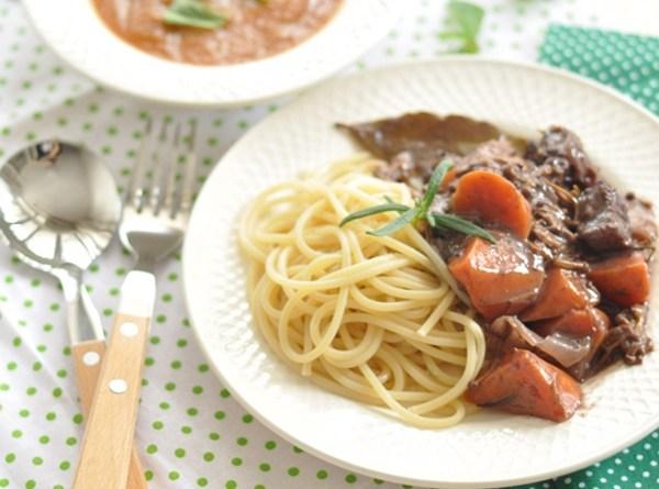 法式紅酒燉牛肉 ~ 簡易家庭版