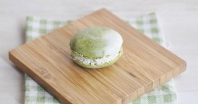 抹茶馬卡龍【和風口味 / 法式蛋白霜】Matcha Macaron