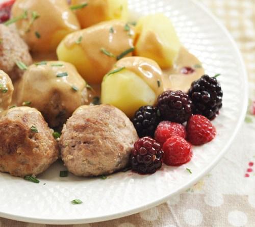 瑞典肉丸【家庭手工版】Swedish Meatballs