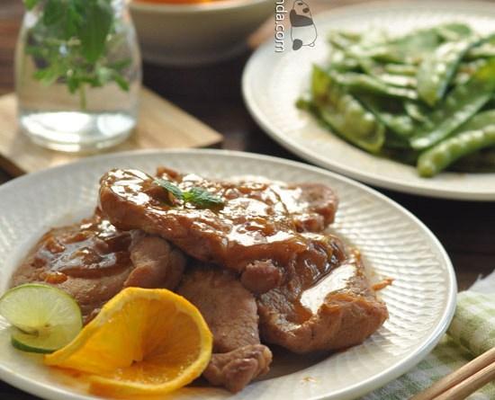 橙汁煎豬扒【開胃惹味】Orange Juice Pork Chops