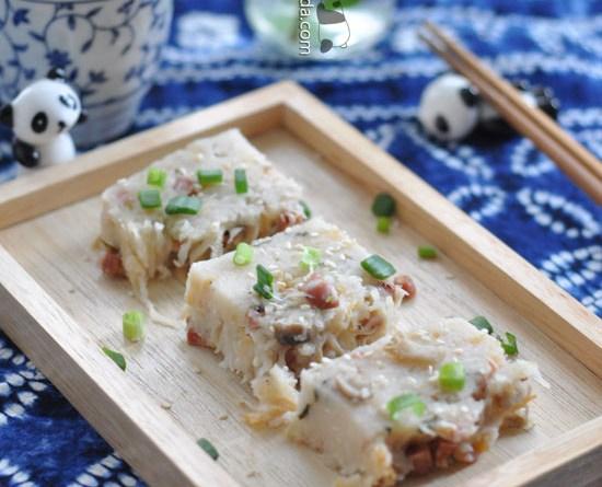 港式臘味蘿蔔糕【賀年必吃】Turnip Cake Recipe