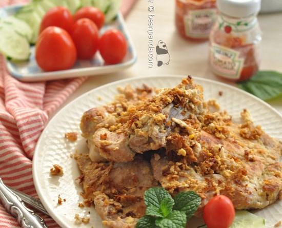 蛋汁煎豬扒【天然鬆肉蛋香濃】Stired Fried Pork Chops with Eggs