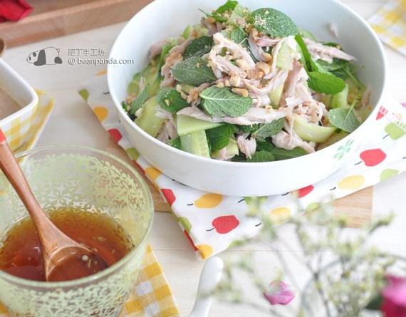 越式雞絲沙律 ( 牙車快 )【涼拌小清新】Vietnamese Chicken Salad