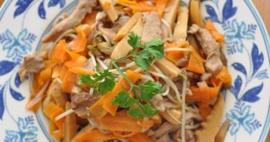 油炆筍炒鴨絲【 回味小炒】Sitr-fried Shredded Duck with Bamboo Shoot