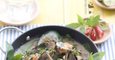 越式椰汁香茅煮蜆【芳香清爽】Fried Clams with Lemongrass and Coconut Milk
