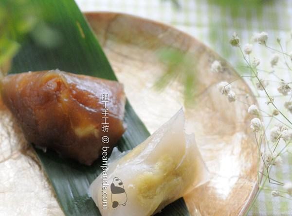黑白雙色冰粽【清涼 Q 軟】Iced Dragon Dumplings