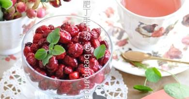 蔓越莓乾(小紅莓乾)【低糖保健零食】Candied Cranberries Recipe