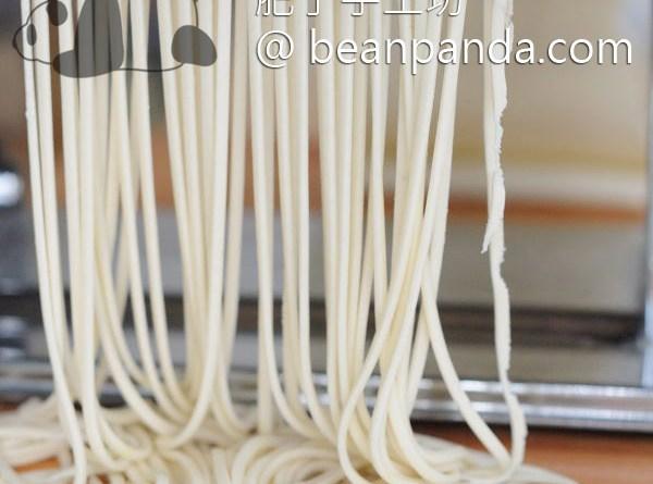 手工拉麵 用壓麵機輕鬆做 不需要特殊技巧 Homemade Ramen with Pasta Maker