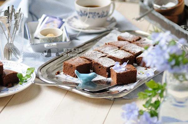 巧克力布朗尼【零失敗減油版】Less Fat Chocolate Brownie