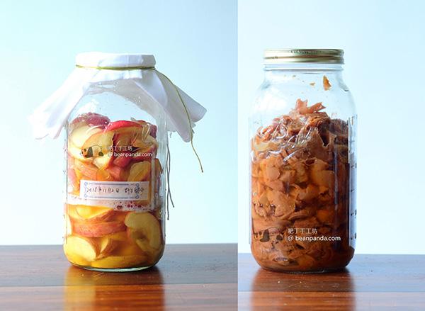 天然發酵純釀蘋果醋 肥丁的釀醋之旅 Homemade Apple Cider Vinegar