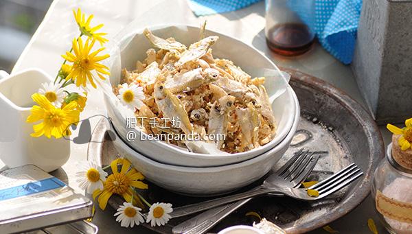 杏仁小魚 補鈣零食 Almond Strips & Fish