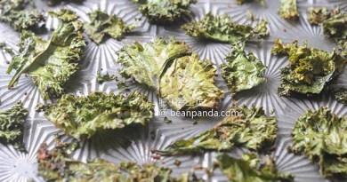 羽衣甘藍脆片【超級零食】Baked Kale Chips