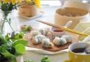 豌豆苗水晶餃【廣東點心】Pea Shoots Dumplings