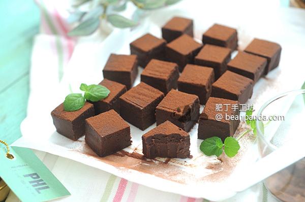 軟心生巧克力 ~ 香滑濃醇入口即化 沒有奶製品 全植物 Nama Chocolate Recipe Plant-base