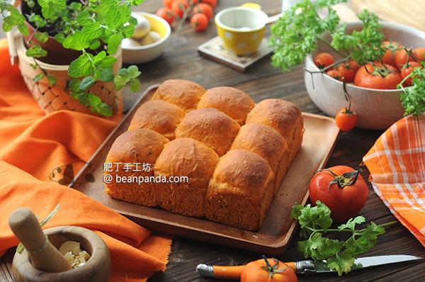 番茄手撕麵包【特濃番茄味】Tomato Bread Recipe