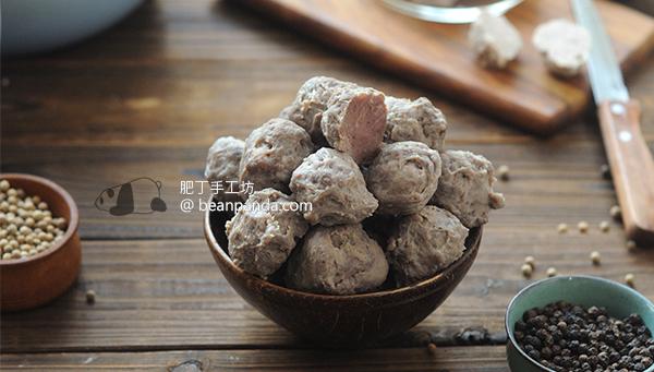 自製牛肉丸【鮮味彈牙】Homemade Beef Balls