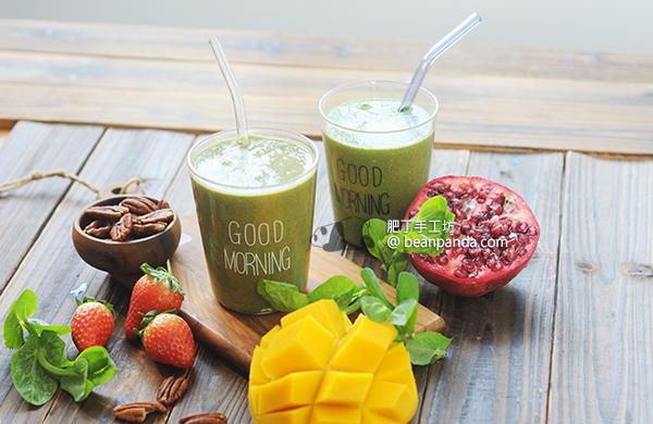 綠拿鐵/紫拿鐵 喝起來有拿鐵奶香的綜合蔬果昔 Green Latte Purple Latte