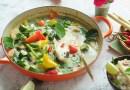 加拿大野生灰鰈魚綠咖喱 鰈魚去皮起骨小技巧 Thai Green Curry Grey Sole Recipe