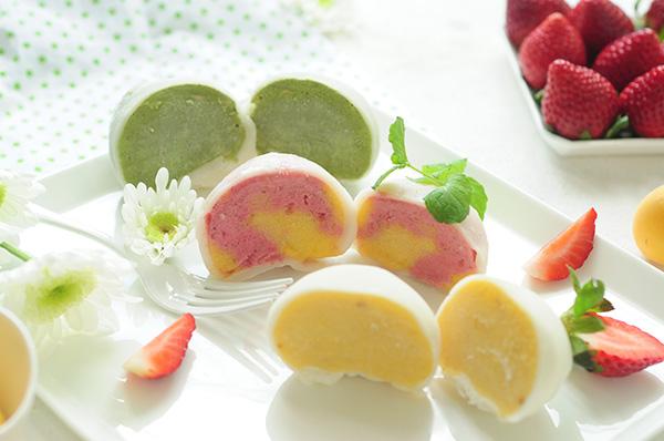麻糬冰淇淋 雪糕糯米滋 一口透心涼 Homemade Icecream Mochi Recipe Vegan