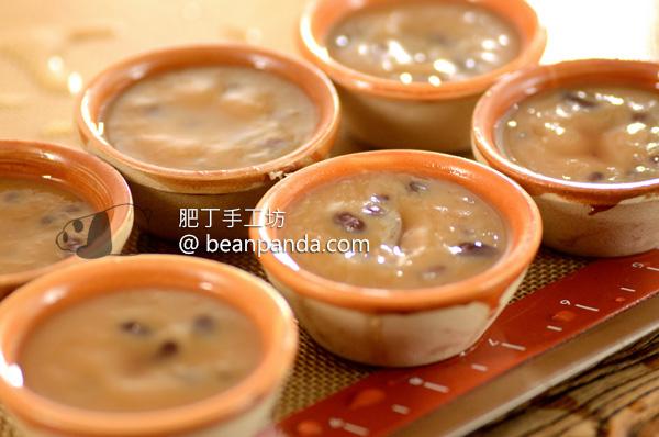 砵仔糕【現磨米漿】超詳細做法 Pat Chai Red Bean Pudding