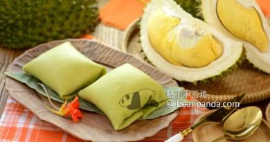 榴槤班戟超好吃【味道湧出屏幕了】清新班蘭餅皮 Hong Kong Style Durian Pancake Recipe
