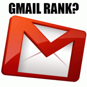 Gmail Rank