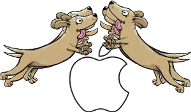 Dogpile on Apple