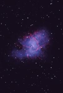A supernova remnant: The Crab Nebula. Image courtesy of Bill Schoening/NOAO/AURA/NSF
