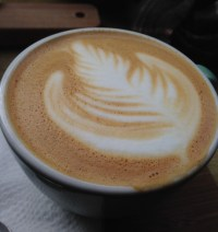 latte art, flat white art