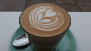 Latte art scutoid tulip