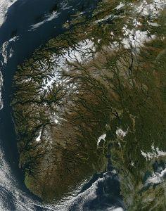 Nasa, Norway, coastline, fratal