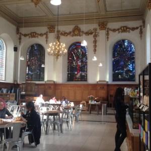 Wren cafe, St Nicholas Cole Abbey